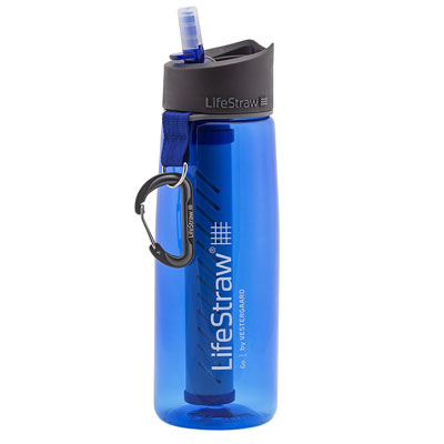 Bug Out Bag Water Filter Bottle