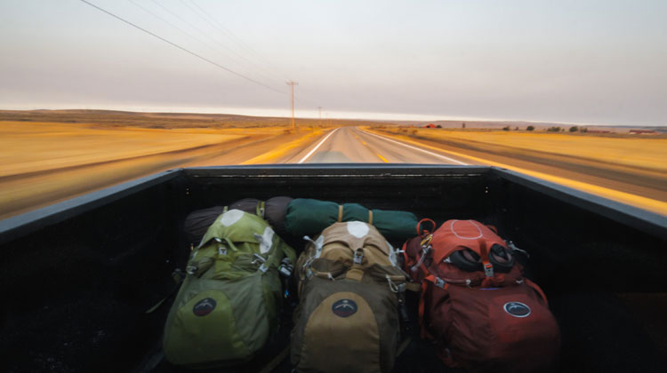Bug out vehicle and bags