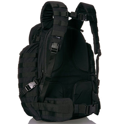 Best Bug Out and Survival Backpacks Guide 5-11 RUSH 72 Backpack Back