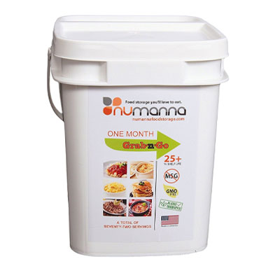 Best Emergency Survival Food Kits and Emergency Meal Kits NuManna One Month Grab n Go