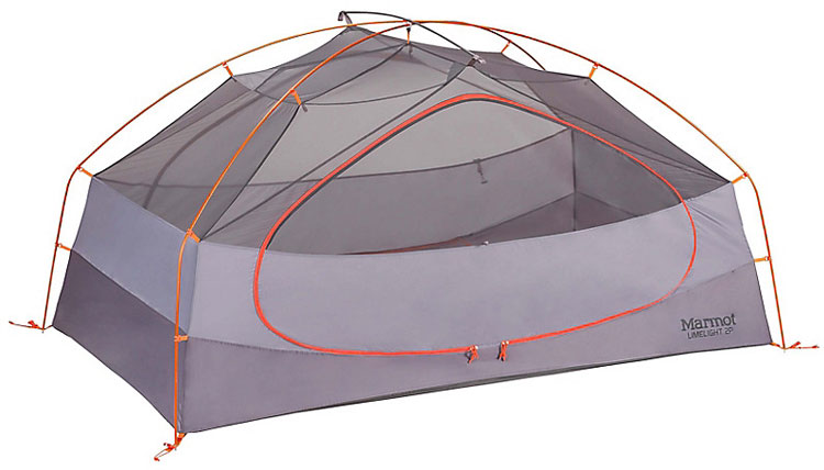 The Ultimate Guide to the Best Survival Tent Options - Marmot Limelight 3P Tent Interior