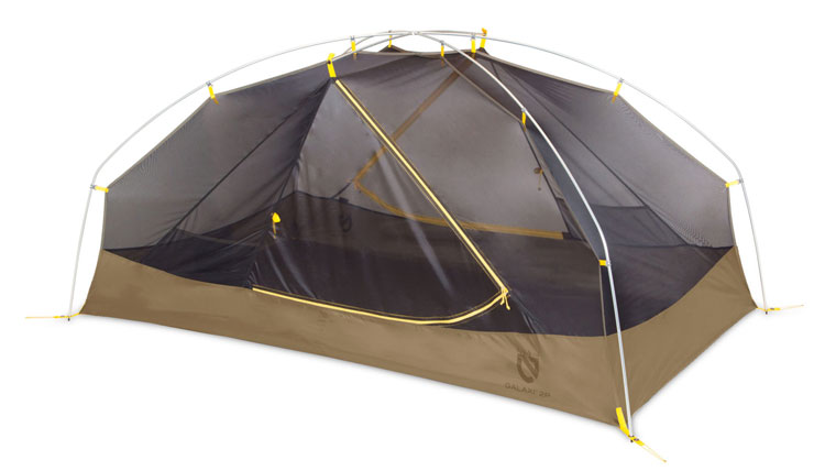 The Ultimate Guide to the Best Survival Tent Options - Nemo Galaxi 2 Person Tent Construction