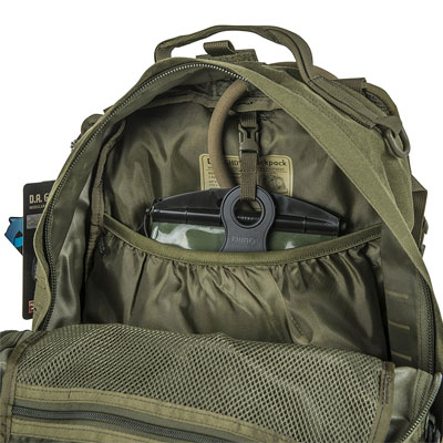 Best Bug Out and Survival Backpacks Guide Direct Action Ghost Tactical Backpack Interior Hydration