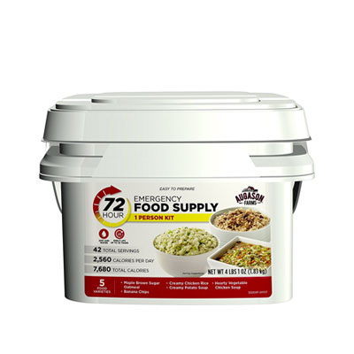 Best Emergency Survival Food Kits and Emergency Meal Kits 72 Hour Emergency Food Supply