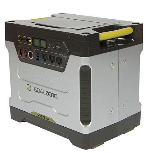 The Best Solar Generator Systems Goal Zero Yeti