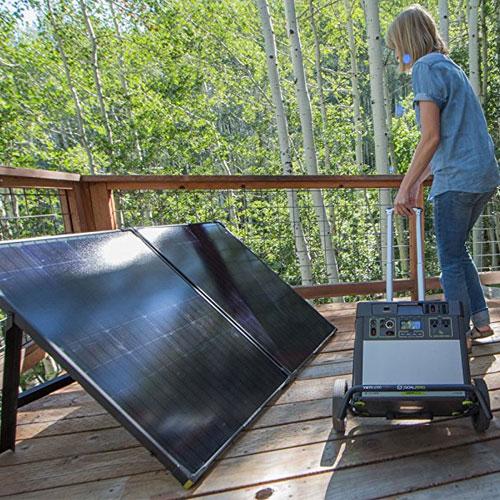 The Best Solar Generator Systems Goal Zero Solar Generator Outdoors
