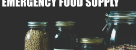 best emergency food supply and emergency food storage pantry ingredients